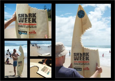 Shark week - DISCOVERY CHANNEL and AUSTAR