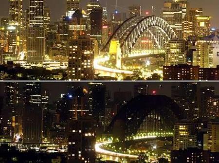 earth hour Sydney