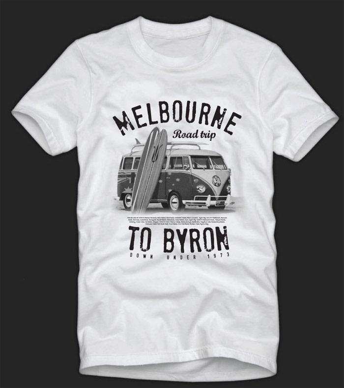Combi design revolution australia Design t shirt australia