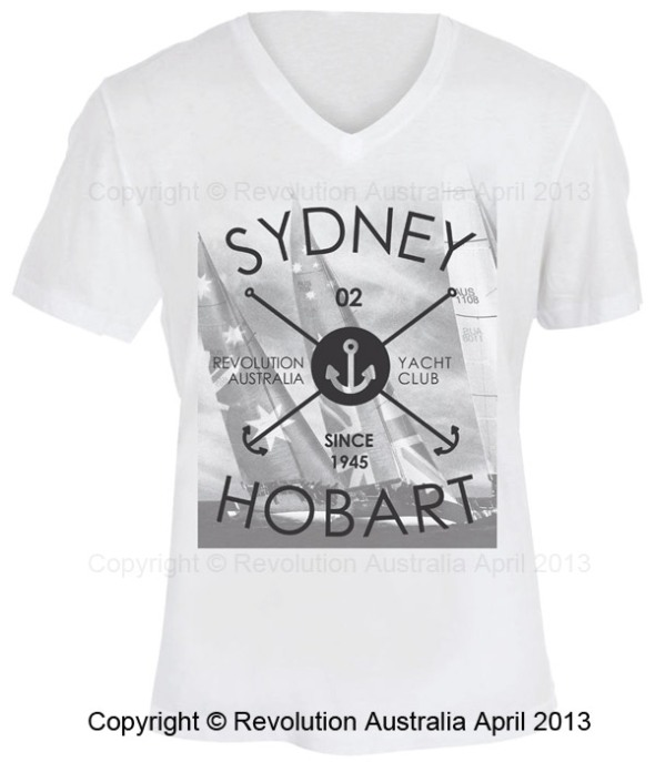 Sydney to Hobart sailing t shirt